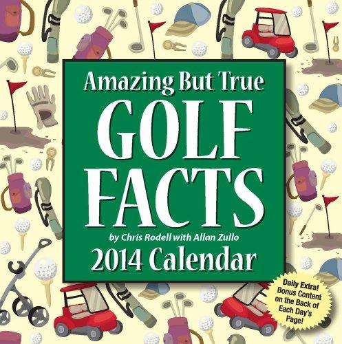 Amazing But True Golf Facts Calendar