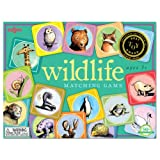 WILDLIFE animals NATURE MATCHING kid's Memory GAME NEW