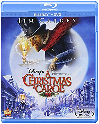 Blu-ray : Disney's A Christmas Carol (With DVD, , Widescreen, Dubbed, Dolby)