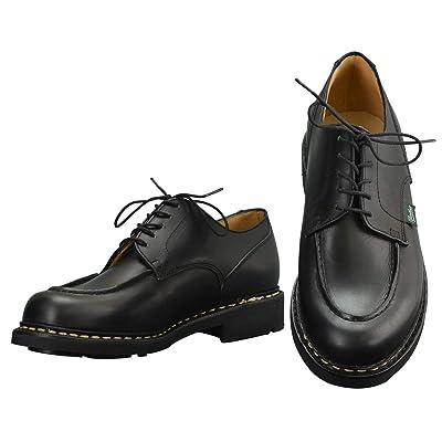 [パラブーツ] シャンボード CHAMBORD Uチップシューズ メンズ靴 ブラック オイルドレザー chambord-710709 国内正規取扱店