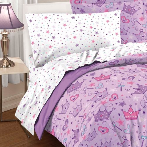 Queen Size Princess Bedding 3596 back