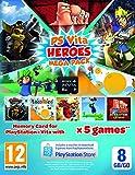 Heroes Mega Pack Plus 8Gb Memory Card (PlayStation Vita)
