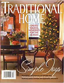 Better Homes And Gardens Special Interest Publications Traditional Home Holiday 2008 Issue