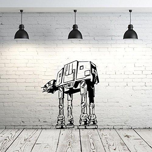 [Star Wars AT-AT Walker Wall Decal Vinyl Sticker Decals Star Wars Wall Decal Children Kids Nursery Bedroom Office Decor Window Dorm] (Star Wars At At Walker)