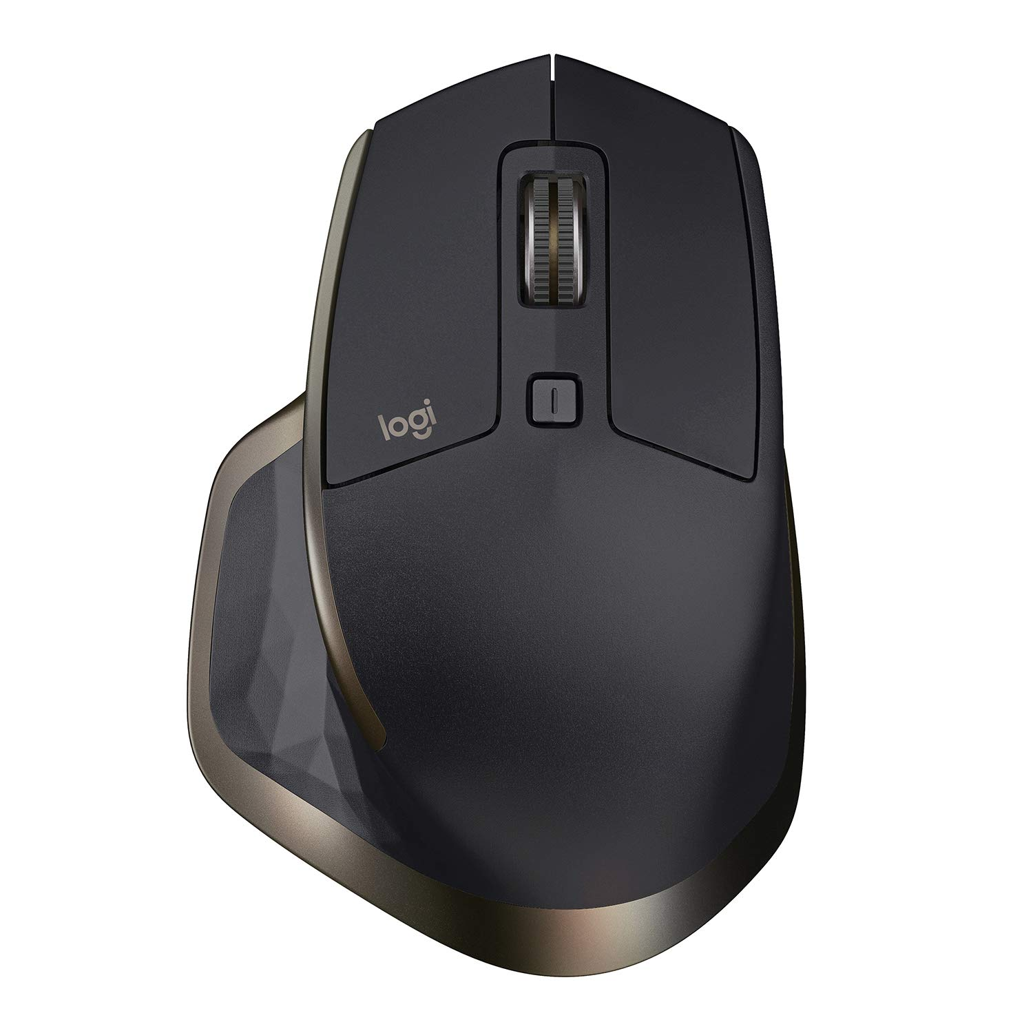 로지텍 MX 마스터 무선 마우스 Logitech MX Master Wireless Mouse – High-Precision Sensor, Speed-Adaptive Scroll Wheel, Easy-Switch up to 3 Devices - Meteorite