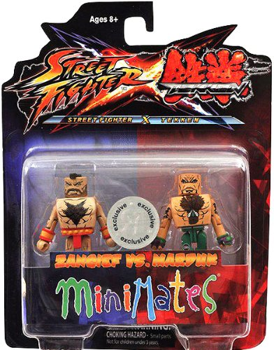 Exclusive Tekken vs. Street Fighter Minimates - Zangief vs. Marduk - 1