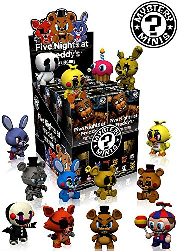 [Five Nights at Freddy's Mystery Minis Series 1 Set of 12] (Foxy Five Nights At Freddys Costume)