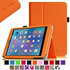 Fintie E FUN Nextbook 7.85 (Nextbook 8) Tablet 8GB Memory Quad Core 2014 Release Model NX785QC8G Folio Case - Premium Leather Cover With Stylus Holder 3 Years Warranty [NOT FIT Premium 8HD] - Orange