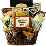 Art of Appreciation Gift Baskets Crazy for Coffee Gourmet Food and Snacks Gift Basket