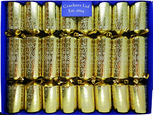 fill-your-own-christmas-crackers-craquelins-box-of-8-crackers-craquelins-in-gold-with-a-white-floral
