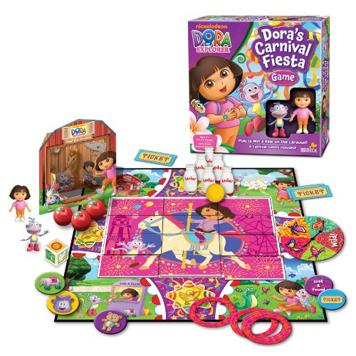Dora the Explorer Carnival Fiesta Game