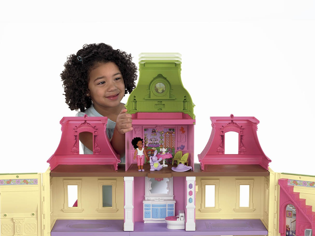 Perfect dollhouse for little girls for Young house love dollhouse