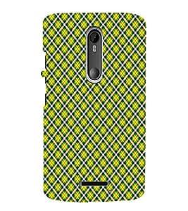 EPICCASE yellow diamonds Mobile Back Case Cover For Moto X 3rd Gen (Designer Case)