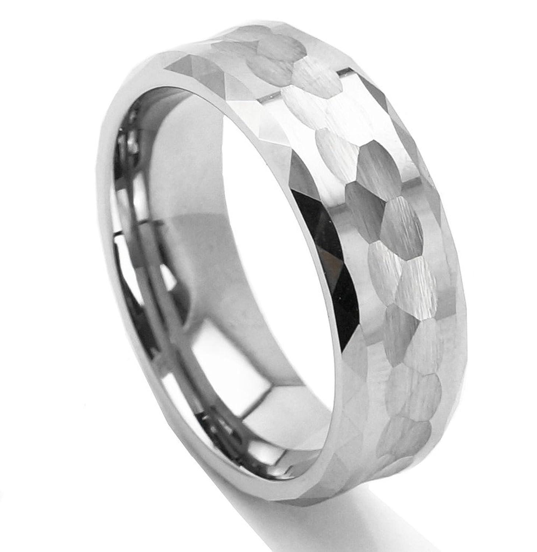 Cobalt Metal Ring Men Tungsten Metal Ring