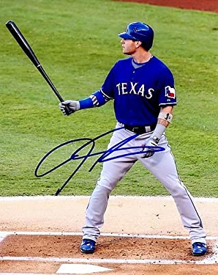 Josh Hamilton Autographed Texas Rangers 8x10 Photo - Certified Authentic