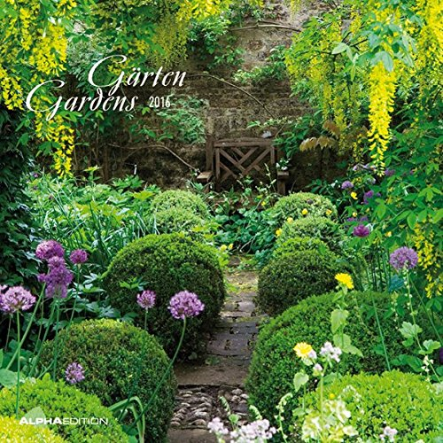 Alpha Edition 160102 Giardini Calendario da Muro 2016 30 X 60 cm Aperto PDF