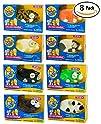 Zhu Zhu Hamster 8 Pack: Captain Zhu, Bamboo, Shamrock, Dezel, Cappuccino, Jinx, Patches, & Peachy (8…