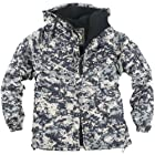 ililily Winter Overcoat Snowboard Jacket with Hood (jackets-014-10-M)