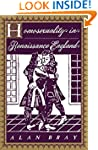 Homosexuality in Renaissance England...