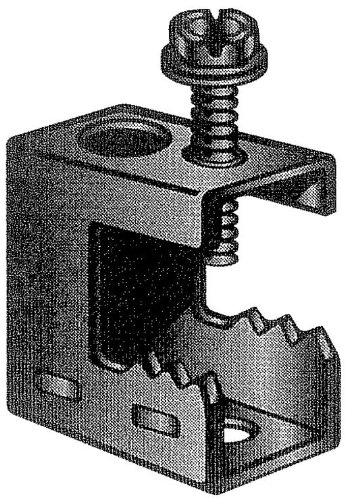 Spring Steel Beam Clamps 1/2in Flange