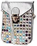 Trendberry Women's Sling & Cross-Body Bag - Silver, TBMS(S)07