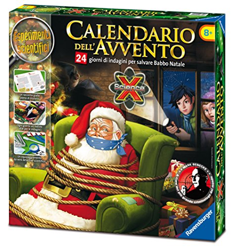 Ravensburger Italy 18938 - Science X Calendario dell'Avvento