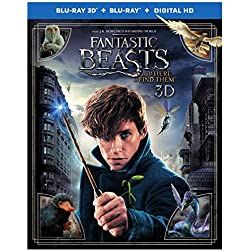 Fantastic Beasts and Where to Find Them [Blu-ray 3D + Blu-ray]