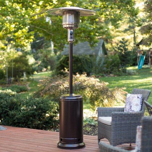 Fire Sense Hammer Tone Bronze Standard Series Patio Heater