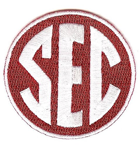 SEC Conference Team Jersey Uniform Patch Arkansas Razorbacks