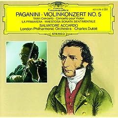 Paganini: La Primavera - Sonata for Violin and Orchestra in A