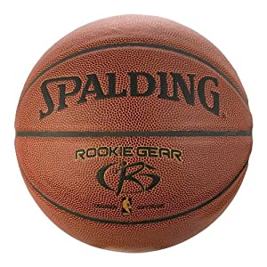 Amazon.com: Spalding Rookie Gear Basketball - Brown - Youth Size (27.5