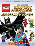 img - for Ultimate Sticker Collection: LEGO DC Comics Super Heroes: Heroes into Battle (Ultimate Sticker Collections) book / textbook / text book