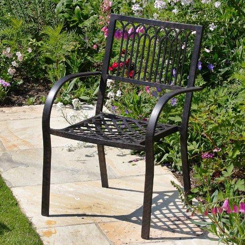 Victoria 250 x 180cm ovales Aluminium Gartenmöbelset – 1 Victoria Tisch + 10 Mary Stühle bestellen