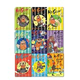 Mr Gum 9 Books Collection Set, (You're A Bad Man Mr Gum, Biscuit Billionaire, The Goblins, The Power Crystals, The Dancing Bear, What's for Dinner, Mr Gum?, the Cherry Tree, the Secret Hideout and Mr Gum the Hound of Lamonic Bibber Mini Bumper book) Andy