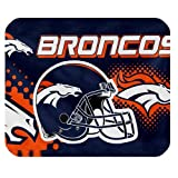 New Diy Design NFL Denver Broncos High Quality Printing Square Mouse Pad Design Your Own Computer Mousepad For Christmas Gifts at Amazon.com