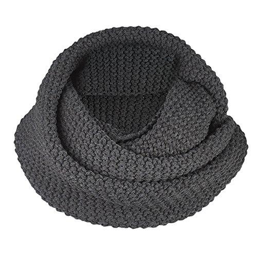 Brekka Soft Bee Collar Sciarpa, Grigio Melange, Taglia Unica