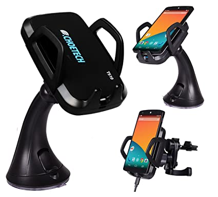 CHOE UPGRADED Qi Wireless Charger Car Charger Dock