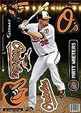 MLB Baltimore Orioles Matt Wieters Fathead Teammate Wall Decal, 8 x 17-Inch, Black