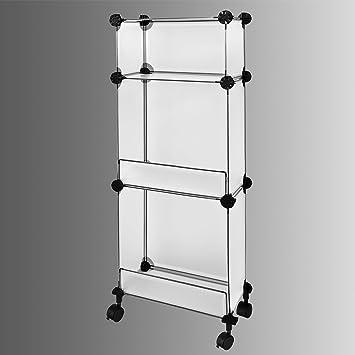 sobuy k chenregal schrank steckregal standregal garderobe kleiderschrank steckregalsystem. Black Bedroom Furniture Sets. Home Design Ideas
