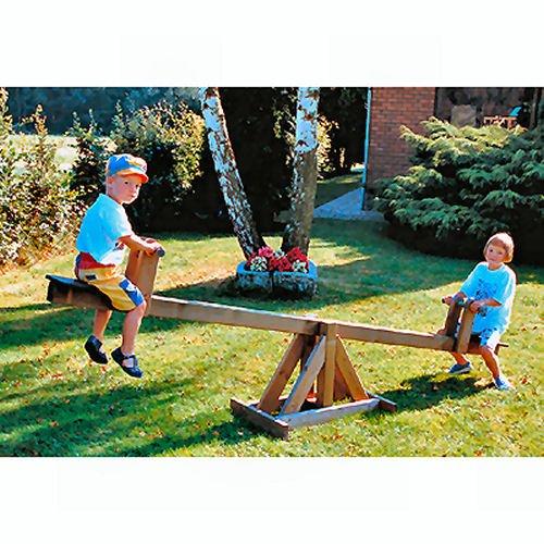 Wooden Garden See-saw