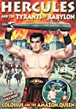 Hercules & Tyrants of Babylon & Colossus & Amazon [DVD] [1960] [Region 1] [US Import] [NTSC]