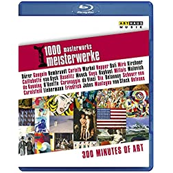 1000 Masterworks - 300 Miínutes of Art [Blu-ray]
