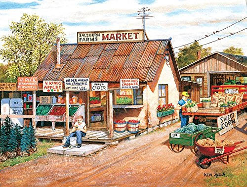 Salzburn Market - 300 Piece Jigsaw Puzzle By SunsOut Inc.