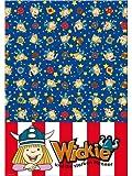Wickie Comic Wikinger Tischdecke Kinderparty 130x180 Kindergeburtstag