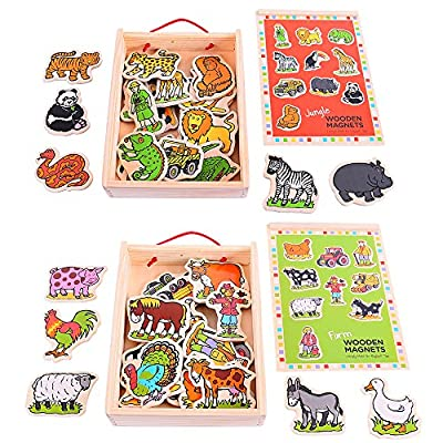 Bigjigs Toys Animal Magnets