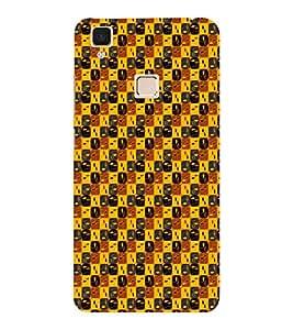 EPICCASE brown grains Mobile Back Case Cover For VIVO V3 (Designer Case)