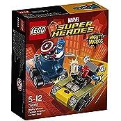 Lego Marvel Super Heroes Mighty Micros Captain America Vs. Red Skull 76065
