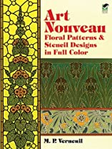 Free Art Nouveau Floral Patterns and Stencil Designs in Full Color (Dover Pictorial Archives) Ebook & PDF Download