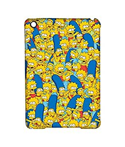 Simpsons - Pattern - Case For Ipad 2/3/4