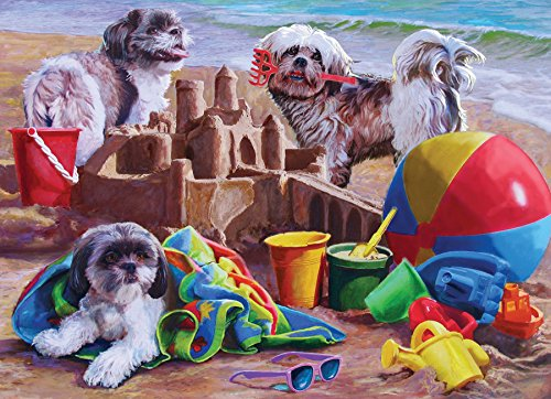 Beach Puppies 1000-Piece